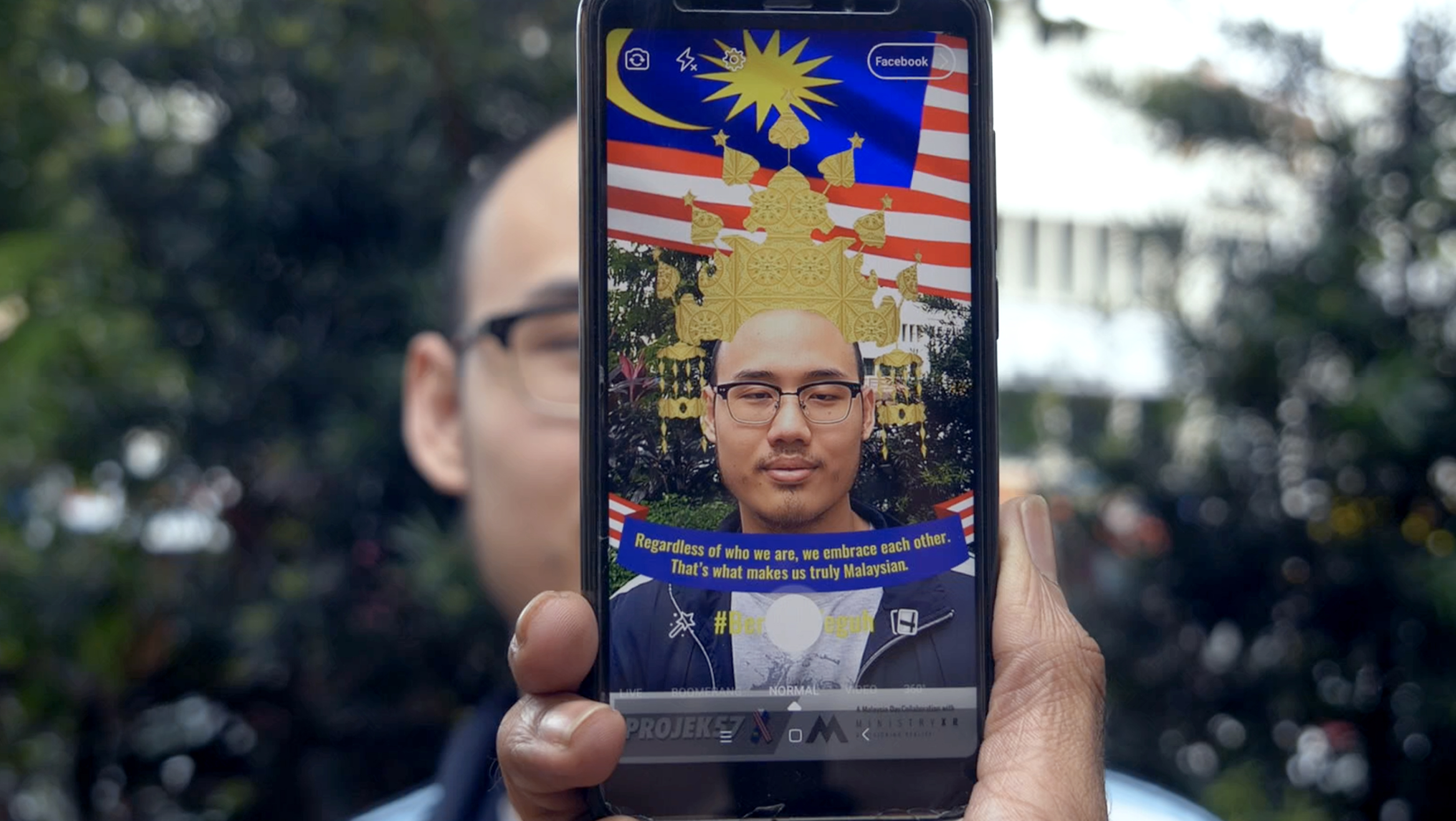 Celebrating Malaysia's Independence Day with Augmented Reality